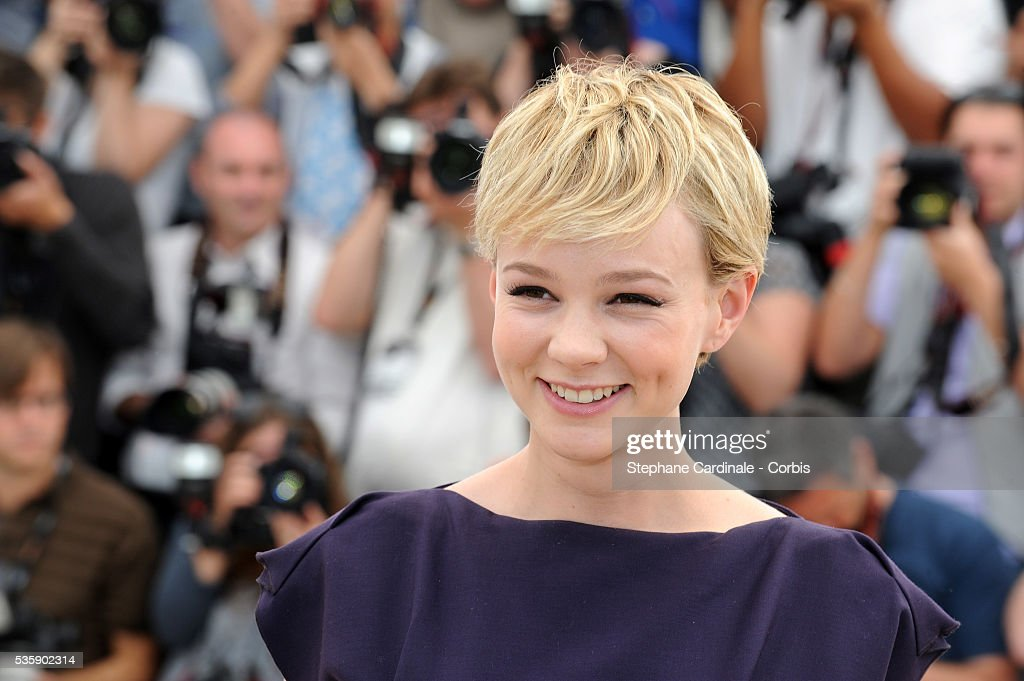 Carey Mulligan at the photocall for 'Wall street : Money never sleeps' during the 63rd Cannes International Film Festival.