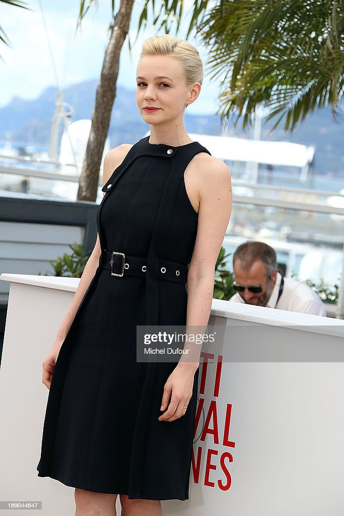 Carey Mulligan attend the 'Inside Llewyn Davis' photocall during the 66th Annual Cannes Film Festival at the Palais des Festivals on May 19, 2013 in Cannes, France.