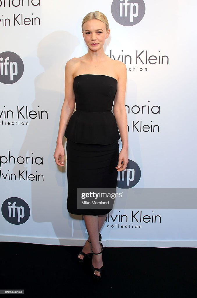 Carey Mulligan attends a party hosted by Calvin Klein and IFP to celebrate women in film at The 66th Annual Cannes Film Festival at L'Ecrin Plage on May 16, 2013 in Cannes, France.