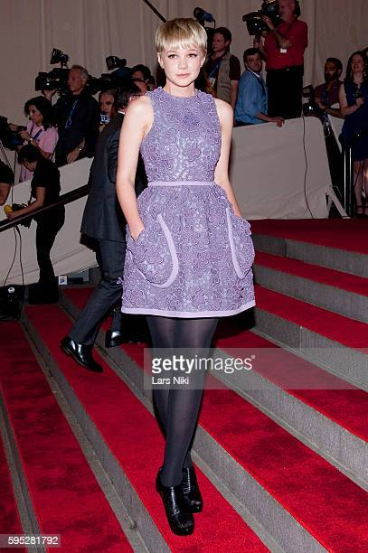 Carey Mulligan attends 'American Woman Fashioning A National Identity' Costume Institute Gala at The Metropolitan Museum of Art in New York City