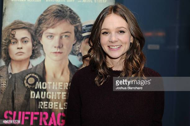 Carey Mulligan attends BAFTA LA Behind Closed Doors at ArcLight Cinemas on November 11 2015 in Hollywood California