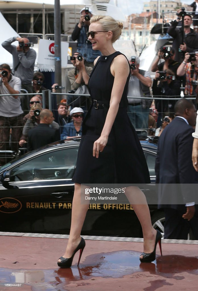 Carey Mulligan attends day 5 of the 66th Annual Cannes Film Festival on May 19, 2013 in Cannes, France.
