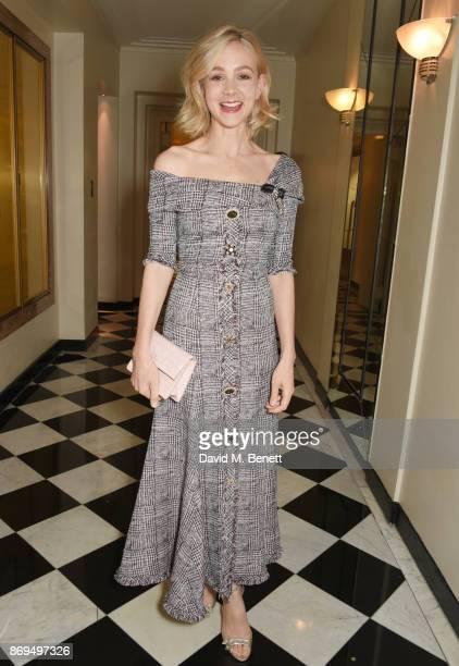 Carey Mulligan attends Harper's Bazaar Women of the Year Awards in association with Ralph Russo Audemars Piguet and MercedesBenz at Claridge's Hotel...