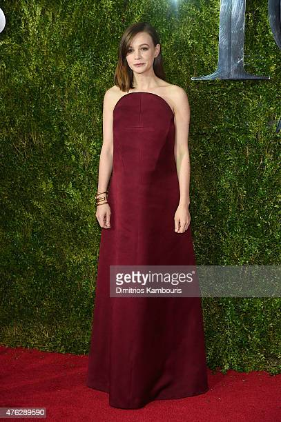 Carey Mulligan attends the 2015 Tony Awards at Radio City Music Hall on June 7 2015 in New York City
