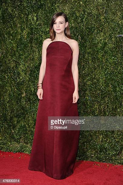 Carey Mulligan attends the American Theatre Wing's 69th Annual Tony Awards at Radio City Music Hall on June 7 2015 in New York City