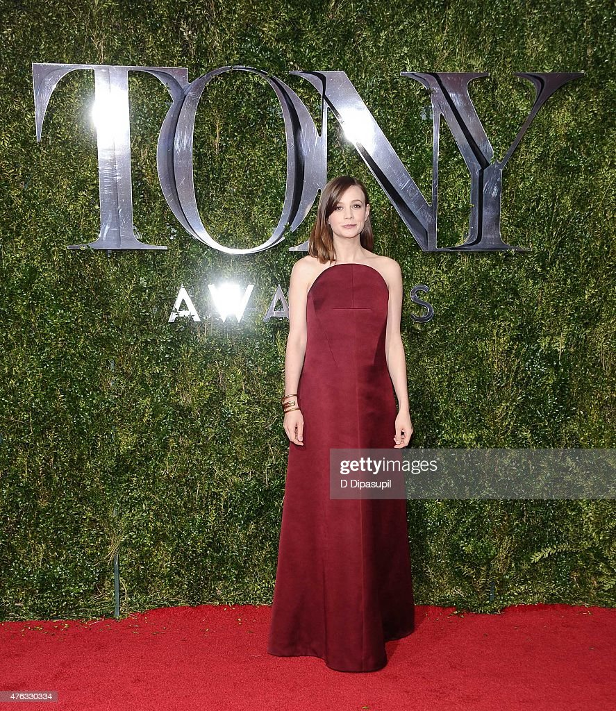 Carey Mulligan attends the American Theatre Wing's 69th Annual Tony Awards at Radio City Music Hall on June 7, 2015 in New York City.