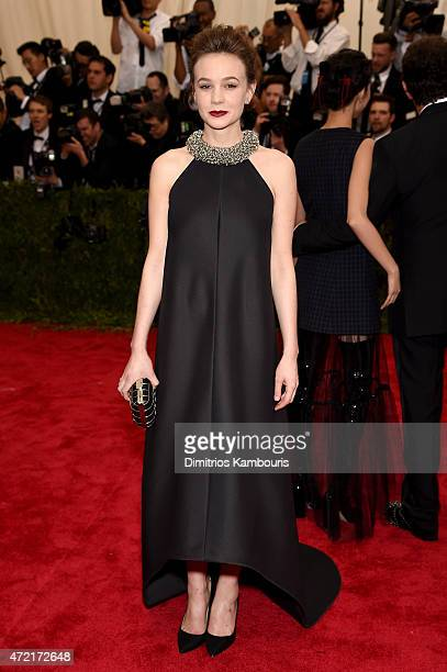 Carey Mulligan attends the 'China Through The Looking Glass' Costume Institute Benefit Gala at the Metropolitan Museum of Art on May 4 2015 in New...