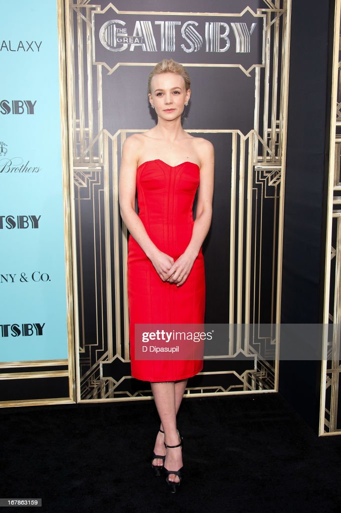 Carey Mulligan attends 'The Great Gatsby' world premiere at Alice Tully Hall at Lincoln Center on May 1, 2013 in New York City.