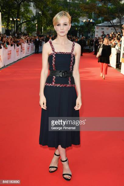 Carey Mulligan attends the 'Mudbound' premiere during the 2017 Toronto International Film Festival at Roy Thomson Hall on September 12 2017 in...