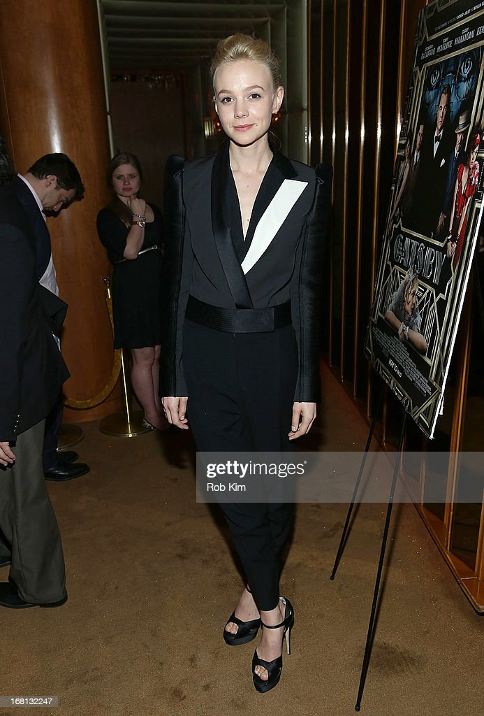 Carey Mulligan attends the pre-Met Ball special screening of 'The Great Gatsby' after-party at The Top of The Standard on May 5, 2013 in New York City.