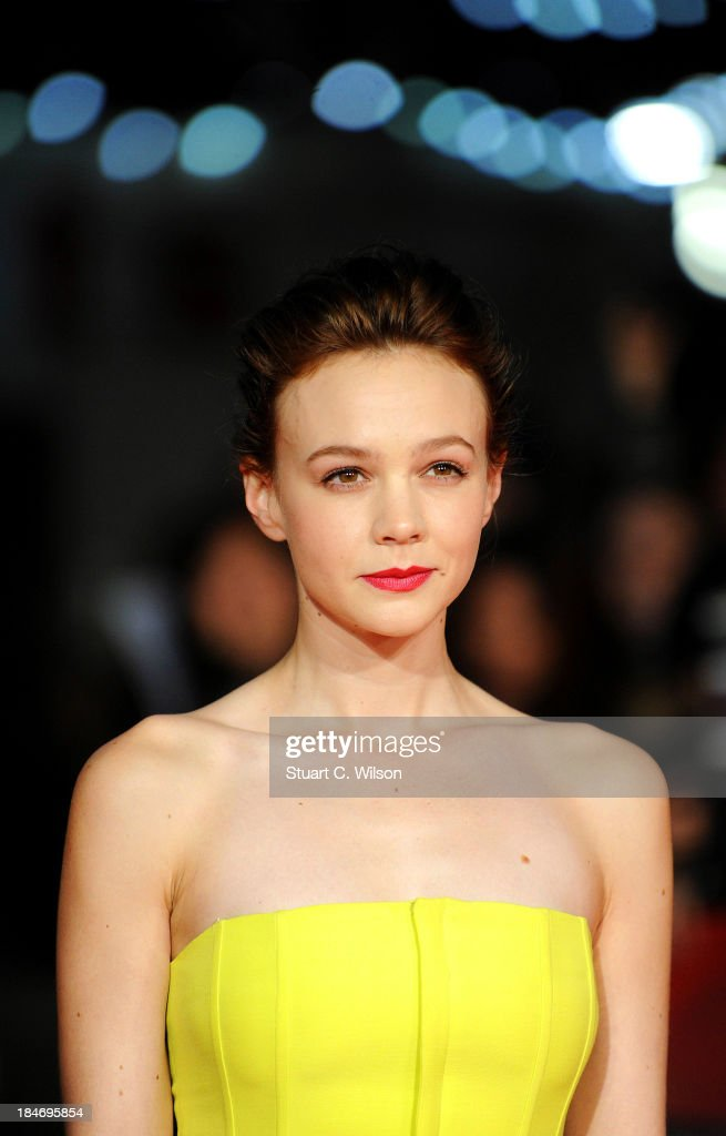 Carey Mulligan attends the screening of 'Inside Llewyn Davis' Centrepiece Gala Supported By The Mayor Of London during the 57th BFI London Film...