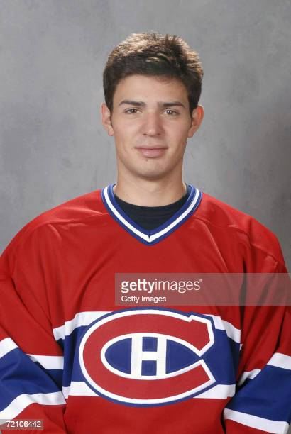 Carey Price of the Montreal Canadiens poses for a portrait during a Media Day photo shoot at the Bell Centre in Montreal Quebec Canada on September...