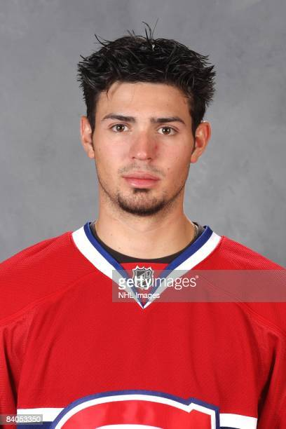 Carey Price of the Montreal Canadiens poses for his official headshot for the 20082009 NHL season