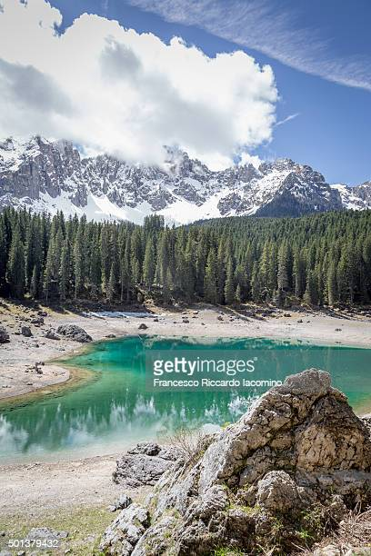 Carezza Lake, Dolomites Alps, Italy