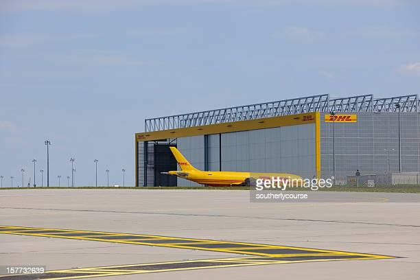DHL Cargo-Center im Flughafen Leipzig/Halle