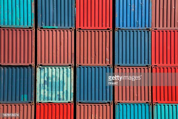 Cargo Containers background