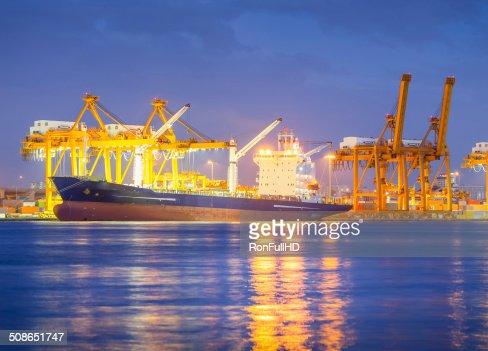 Cargo ship : Stock Photo