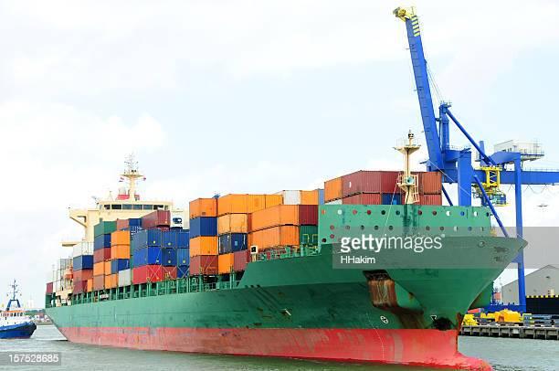 Cargo Ship - Rotterdam