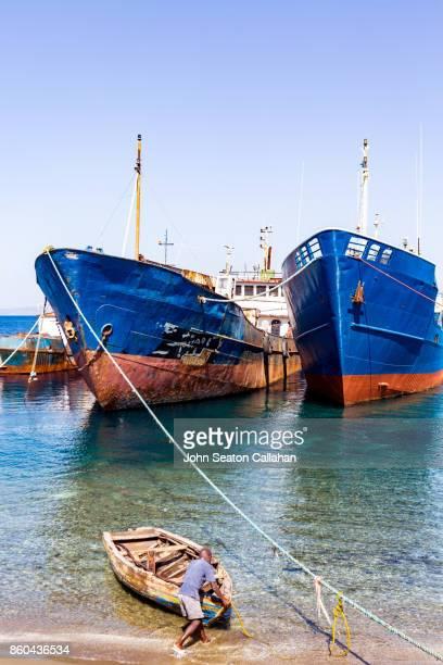 Cargo Ships in Port de Paix