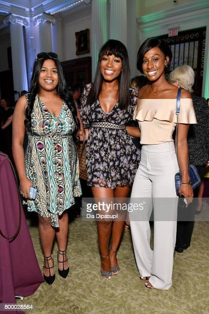 Cari Champion and guests attend the Women's Sports Foundation 45th Anniversary of Title IX celebration at the NewYork Historical Society on June 22...