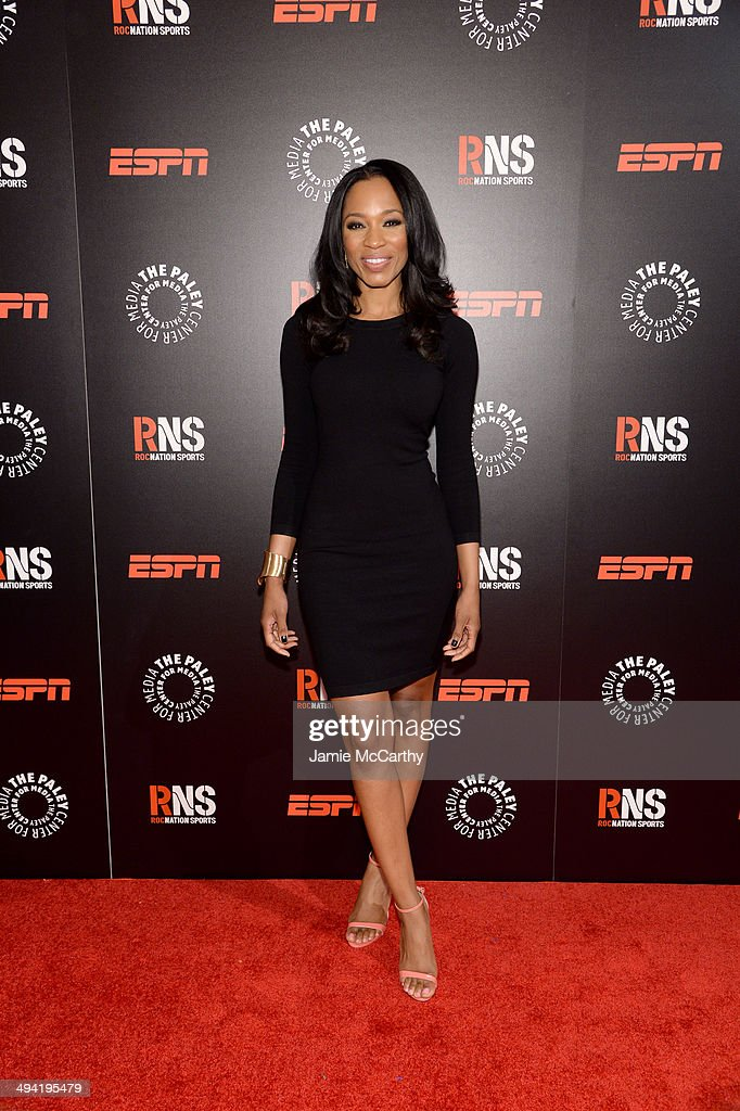 Cari Champion attends the Paley Prize Gala honoring ESPN's 35th anniversary presented by Roc Nation Sports on May 28 2014 in New York City