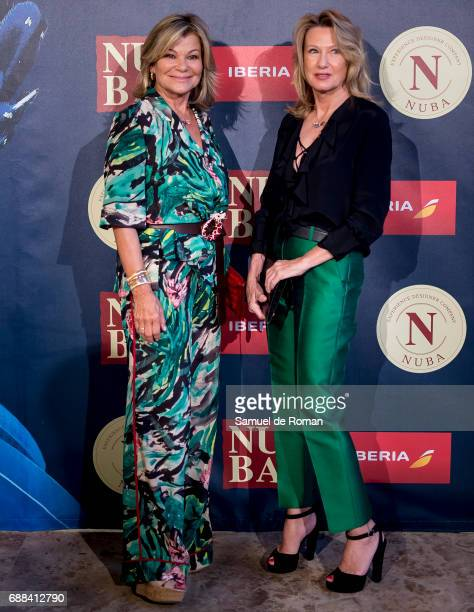Cari Lapique and Miriam Lapique attend the Nuba 2017 Collection Presentation on May 25 2017 in Madrid Spain