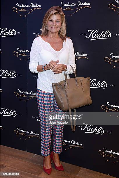 Cari Lapique attends a 'Kiehl's Since 1851' Charity Event on September 24 2014 in Madrid Spain