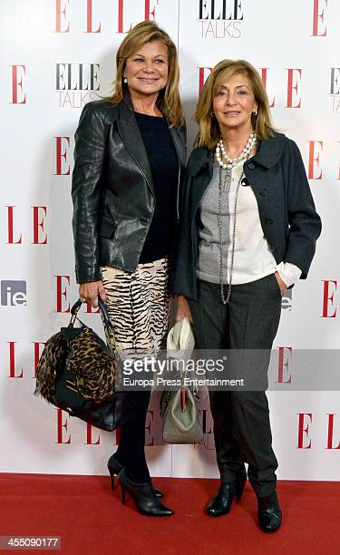 Cari Lapique attends 'ELLE Talks' at IE Business School on December 10 2013 in Madrid Spain