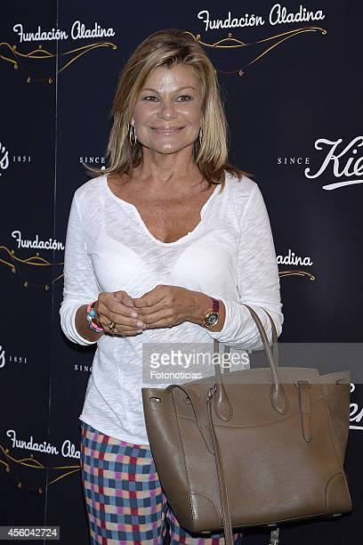 Cari Lapique attends 'Kiehl's Since 1851' charity event at 'Kiehl's Since 1851' flagship store on September 24 2014 in Madrid Spain