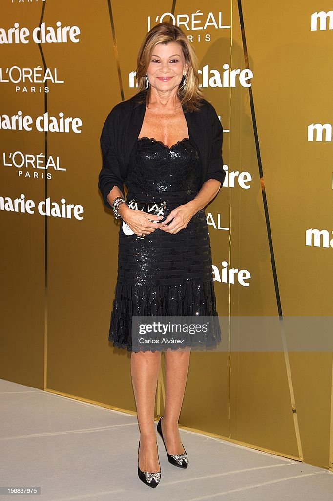 Cari Lapique attends Marie Claire Prix de la Moda Awards 2012 at the French Embassy on November 22, 2012 in Madrid, Spain.