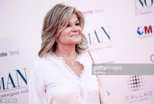 Cari Lapique attends the 'Norman The Moderate Rise and Tragic Fall of a New York Fixer' premiere at the Callao cinema on May 31 2017 in Madrid Spain