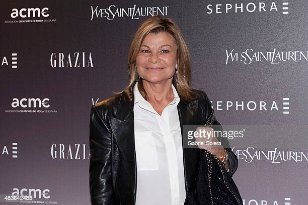 Cari Lapique attends the 'Sephora' Red Carpet Party in Madrid on April 9 2014 in Madrid Spain