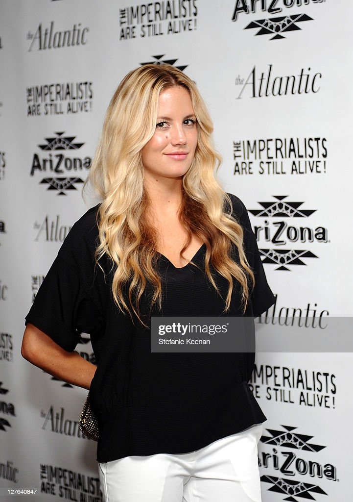 Cari Sladek attends The Atlantic Magazine And AriZona Beverages Los Angeles Premiere Of 'The Imperialists Are Still Alive!' at Soho House on April 19, 2011 in West Hollywood, California.
