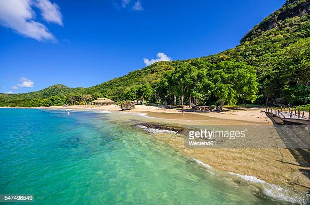 Caribbean, Antilles, Lesser Antilles, Grenadines, Union Island, Beach