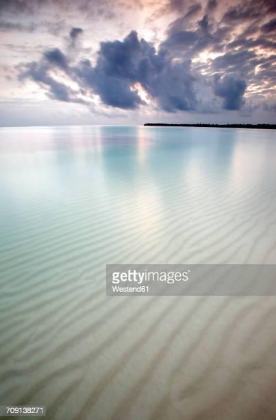 Caribbean, Dominican Republic, Bavaro Beach at sunrise