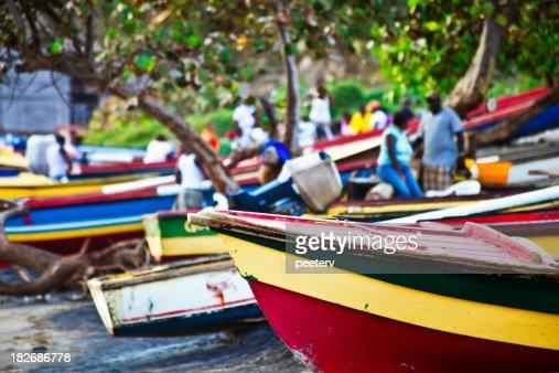 caribbean fishing boats