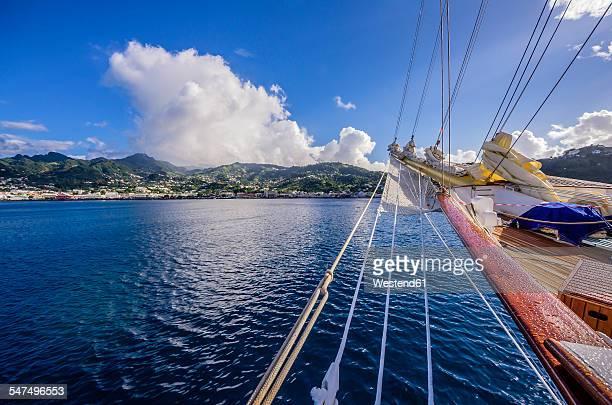 Caribbean, Grenadines, St. Vincent, sailing trip