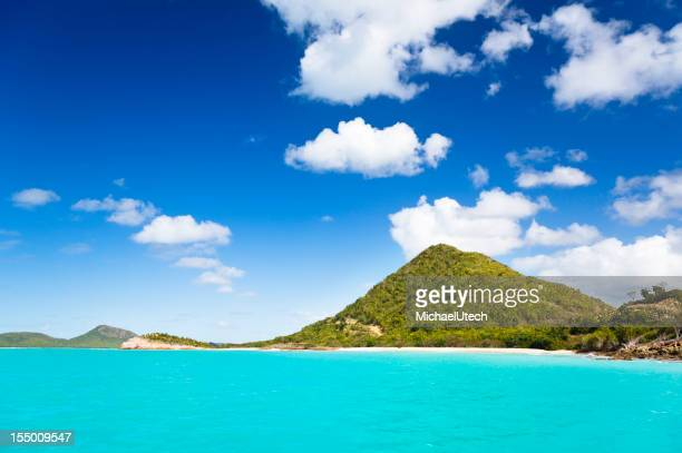 Caribbean Hill Coastline