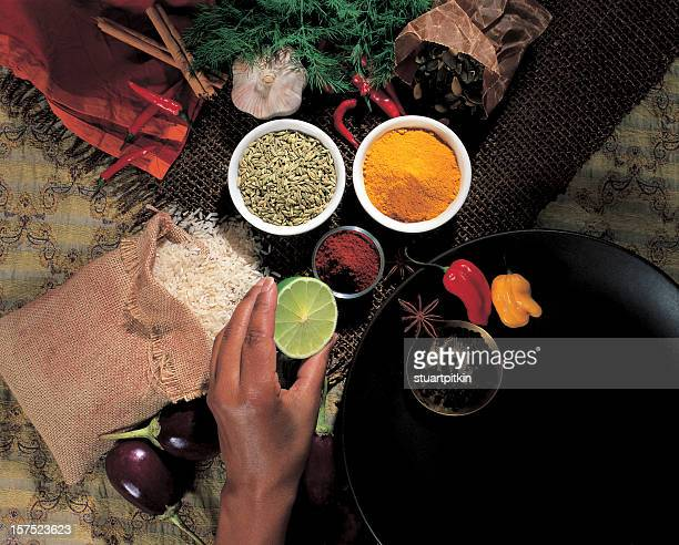 Caribbean ingredients