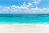 A beautiful turquoise color beach