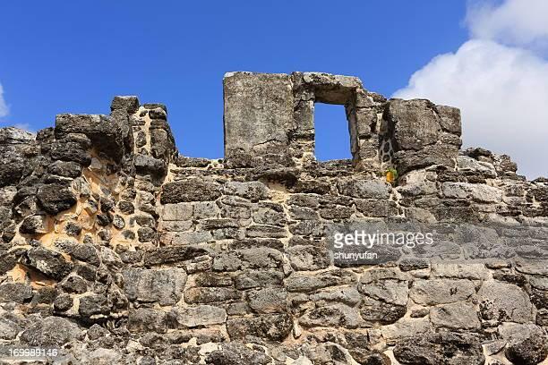 Caribbean: San Gervasio Ruins