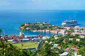 Grenada is a country and an island located in the southern part of the Antilles, and bordered on the East by the Atlantic ocean. It is an island of volcanic origin.