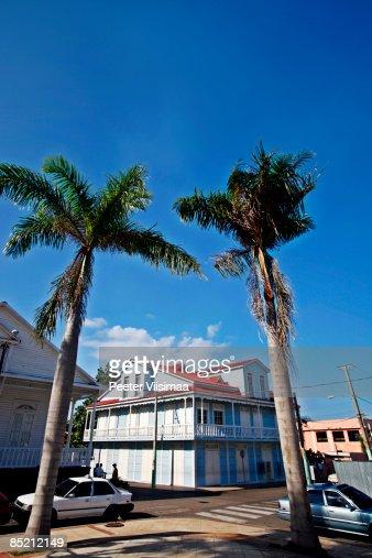 Caribbean town. Puerto Plata, Dominican Republic. : Stock Photo