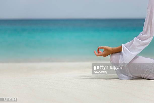 Caribbean yoga woman