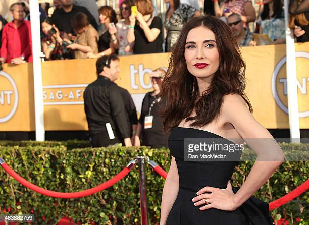 Carice Van Houten arrives at the 20th Annual Screen Actors Guild Awards at the Shrine Auditorium on January 18 2014 in Los Angeles California
