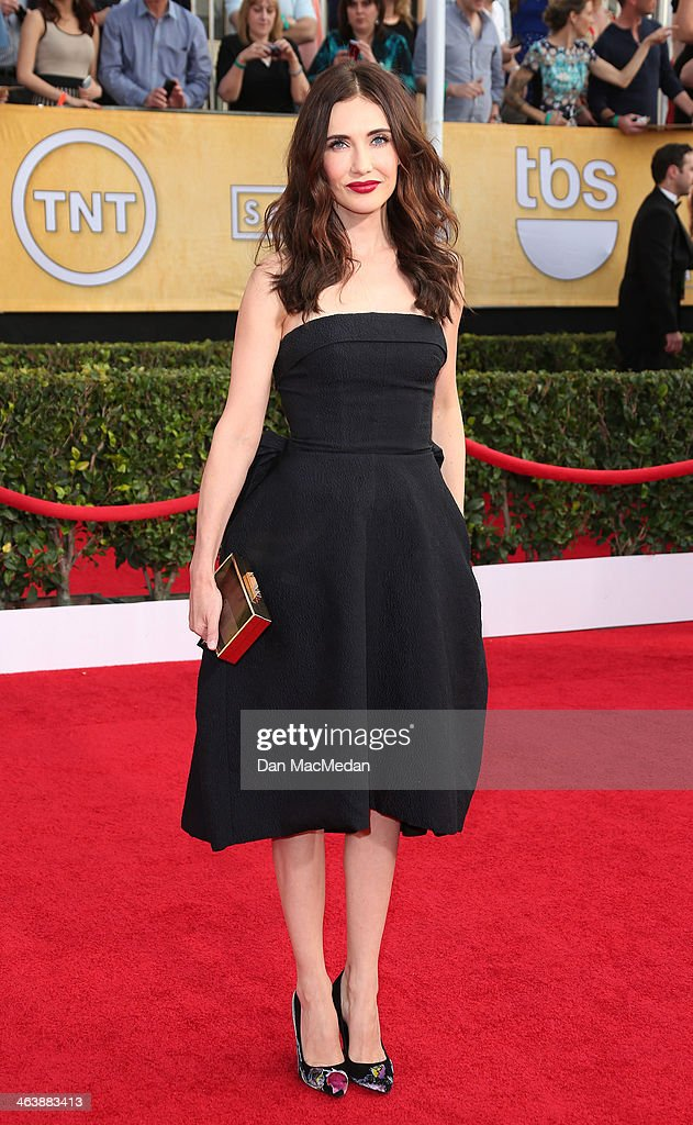 Carice Van Houten arrives at the 20th Annual Screen Actors Guild Awards at the Shrine Auditorium on January 18, 2014 in Los Angeles, California.