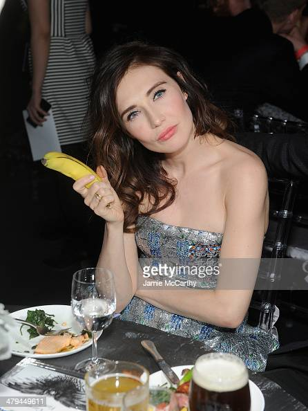 Carice van Houten attends 'Game Of Thrones' Season 4 New York Premiere After Party at Avery Fisher Hall Lincoln Center on March 18 2014 in New York...
