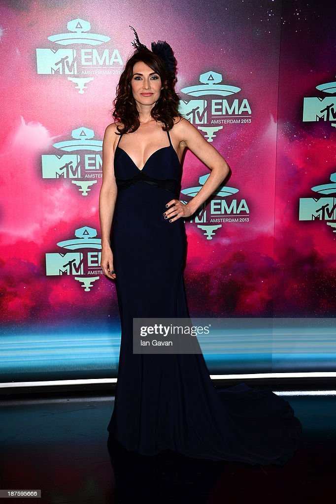 Carice van Houten attends the MTV EMA's 2013 at the Ziggo Dome on November 10, 2013 in Amsterdam, Netherlands.