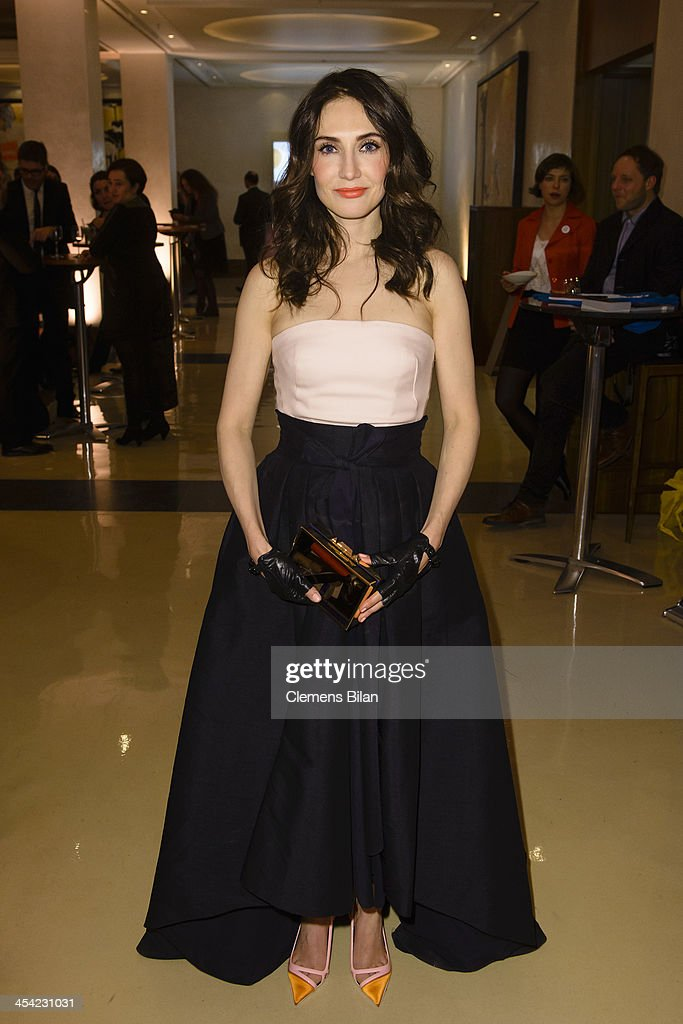 <a gi-track='captionPersonalityLinkClicked' href=/galleries/search?phrase=Carice+van+Houten&family=editorial&specificpeople=2641238 ng-click='$event.stopPropagation()'>Carice van Houten</a> poses at the aftershow party of the European Film Awards 2013 on December 7, 2013 in Berlin, Germany.