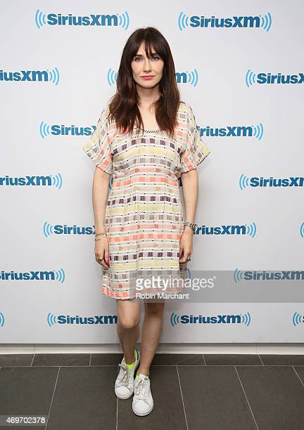 Carice Van Houten visits at SiriusXM Studios on April 14 2015 in New York City